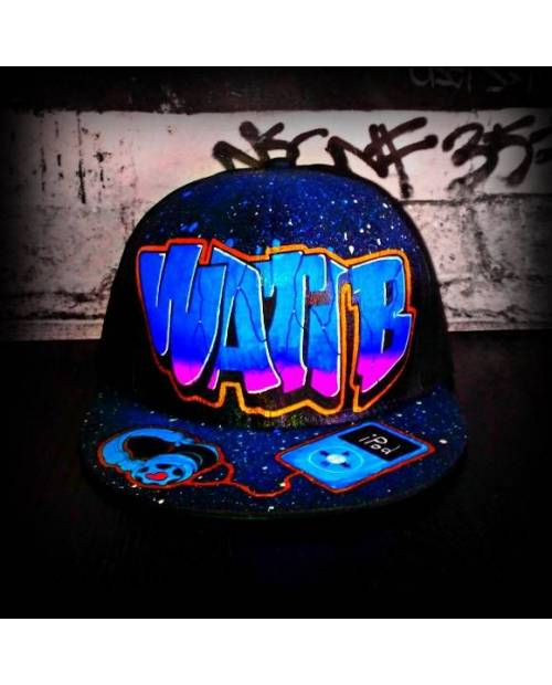 Casquette Wati B x Casque Beats x Ipod d'Apple