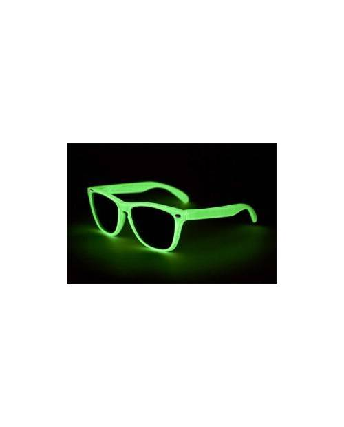 Green LED Glasses, Glasses LED