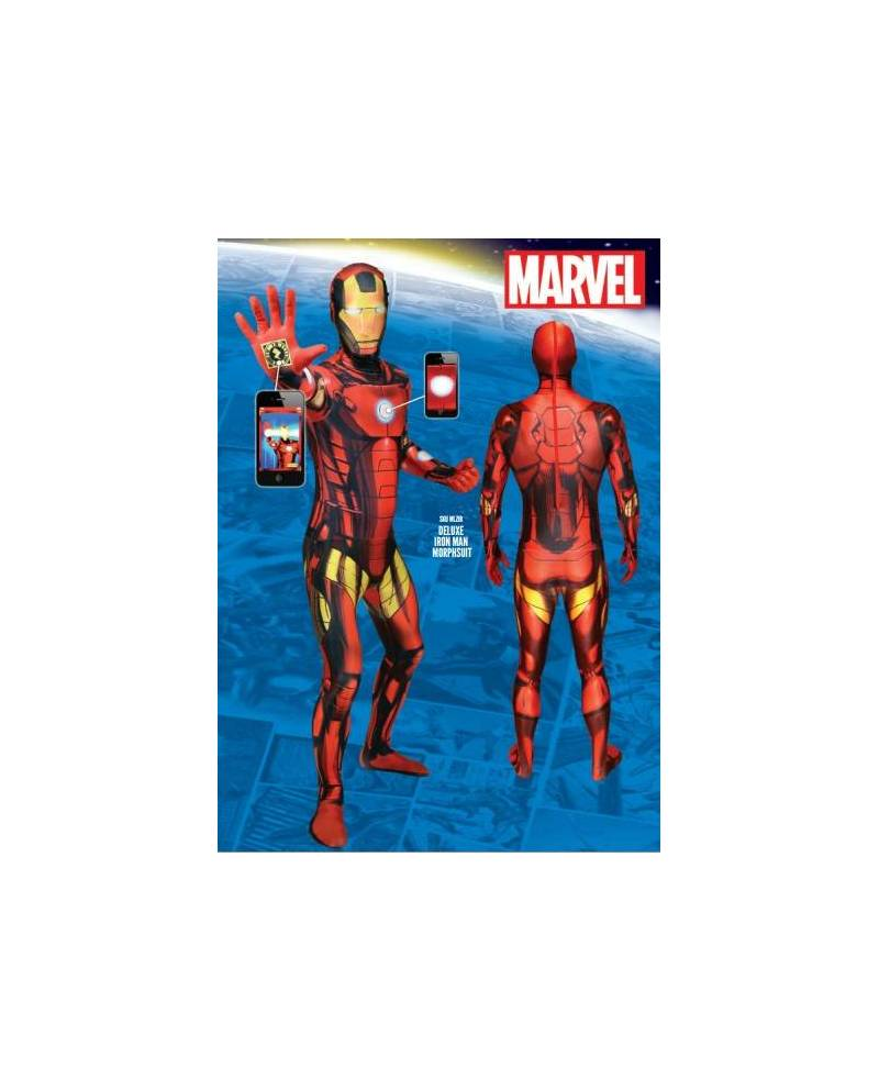 Morphsuit Déguisement Iron Man