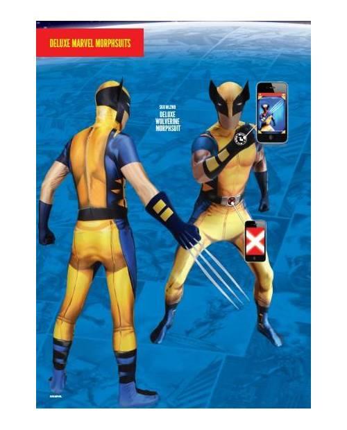 Morphsuit Déguisement Wolverine
