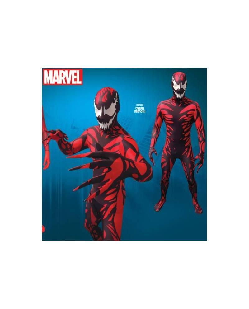 morphsuit costume carnage ennemi spiderman heart jacking. Black Bedroom Furniture Sets. Home Design Ideas