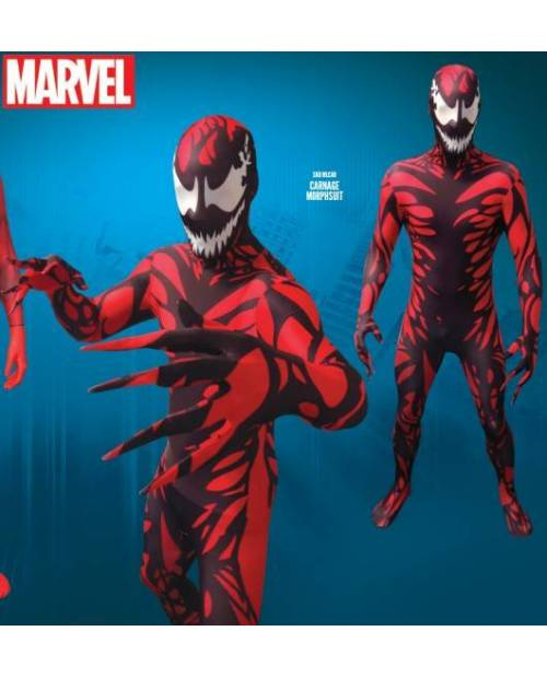 Morphsuit Costume Carnage (Ennemi Spiderman)