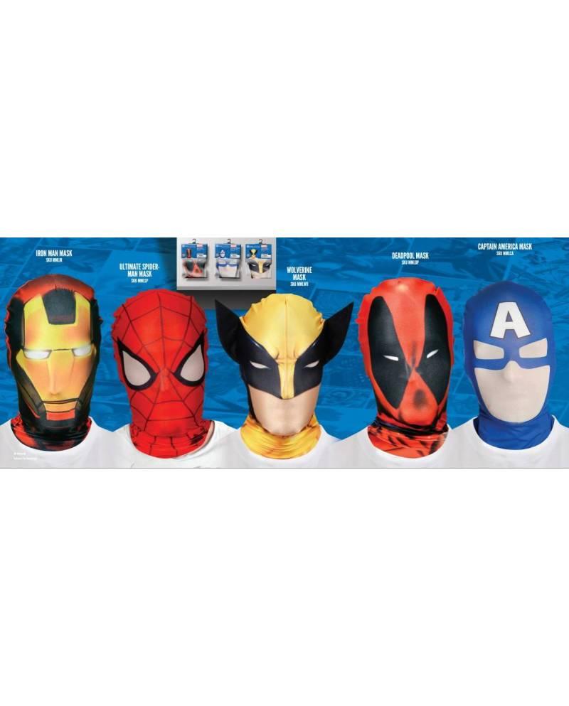 Masque Cagoule Spiderman Officiel