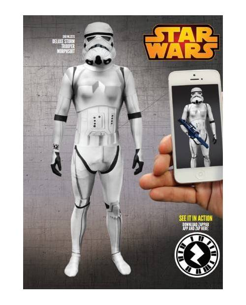 Morphsuit Déguisement Clone Trooper Star Wars