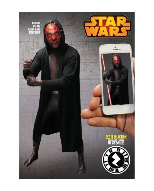 Morphsuit Costume Dark Maul (Star Wars)