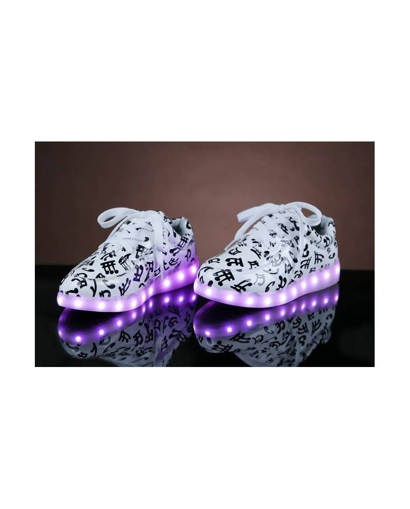 "Chaussures LED Lumineuses ""Music"""