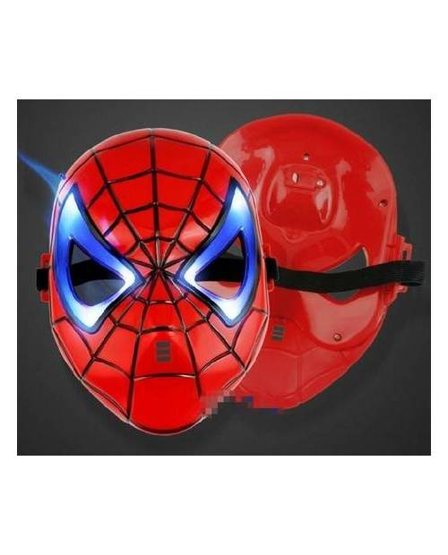 Masque Spiderman Led Lumineux