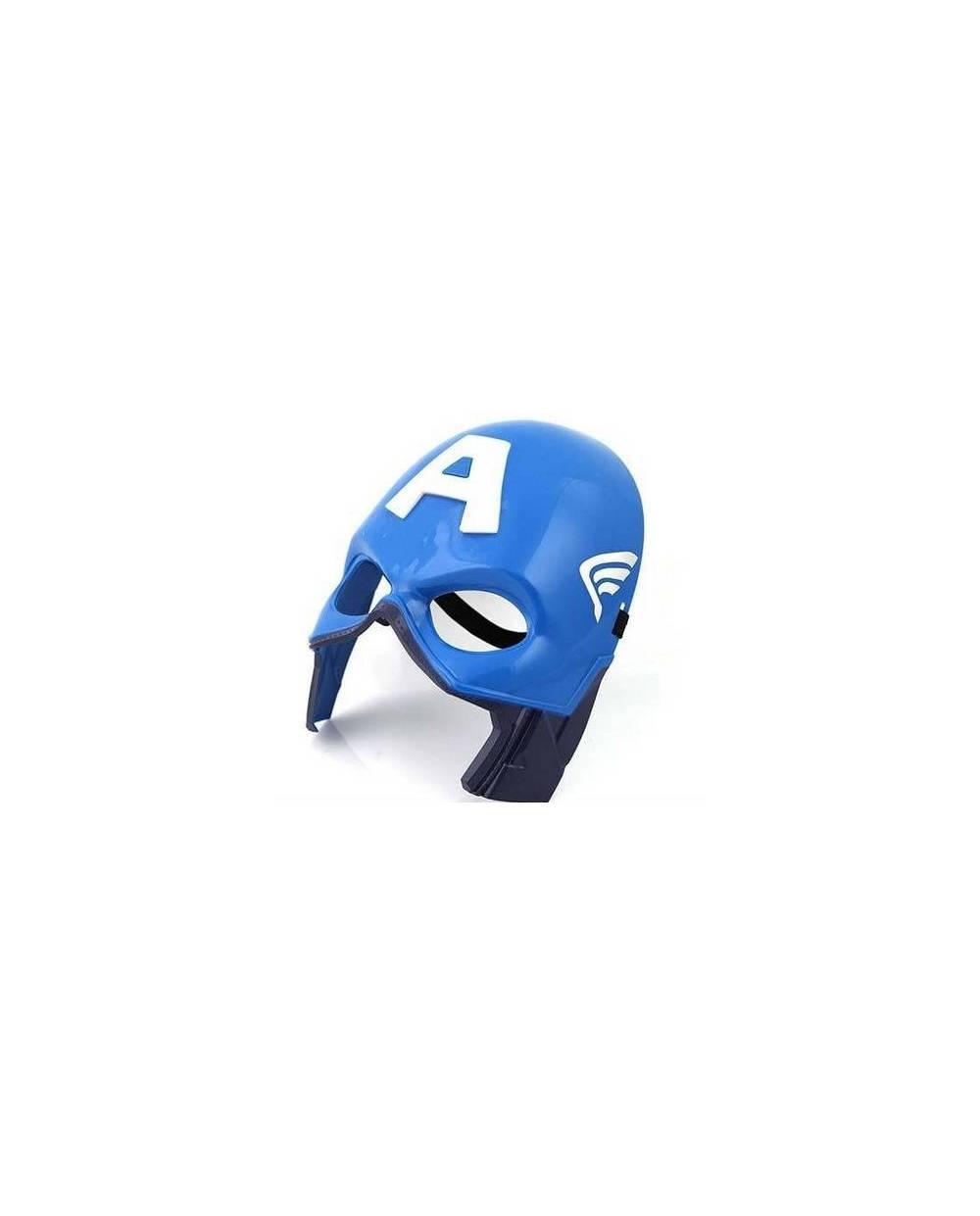 masque captain america lumineux masque led captain america lumineux - Masque Captain America