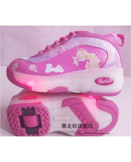 Baskets Lumineuses Enfant Barbie