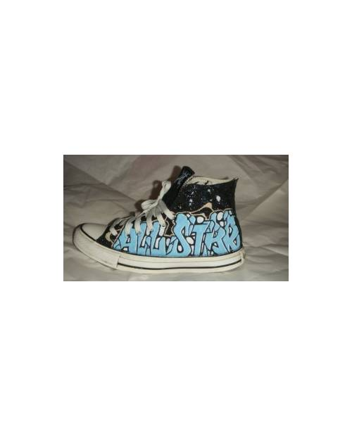Exemple personnalisation Chaussures: All Star