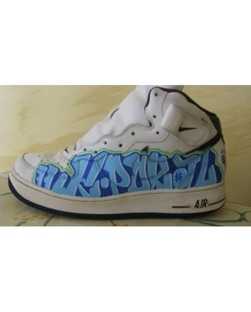 Shoe customization example: Kaporal