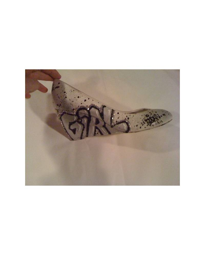 Exemple personnalisation Chaussures: Girl