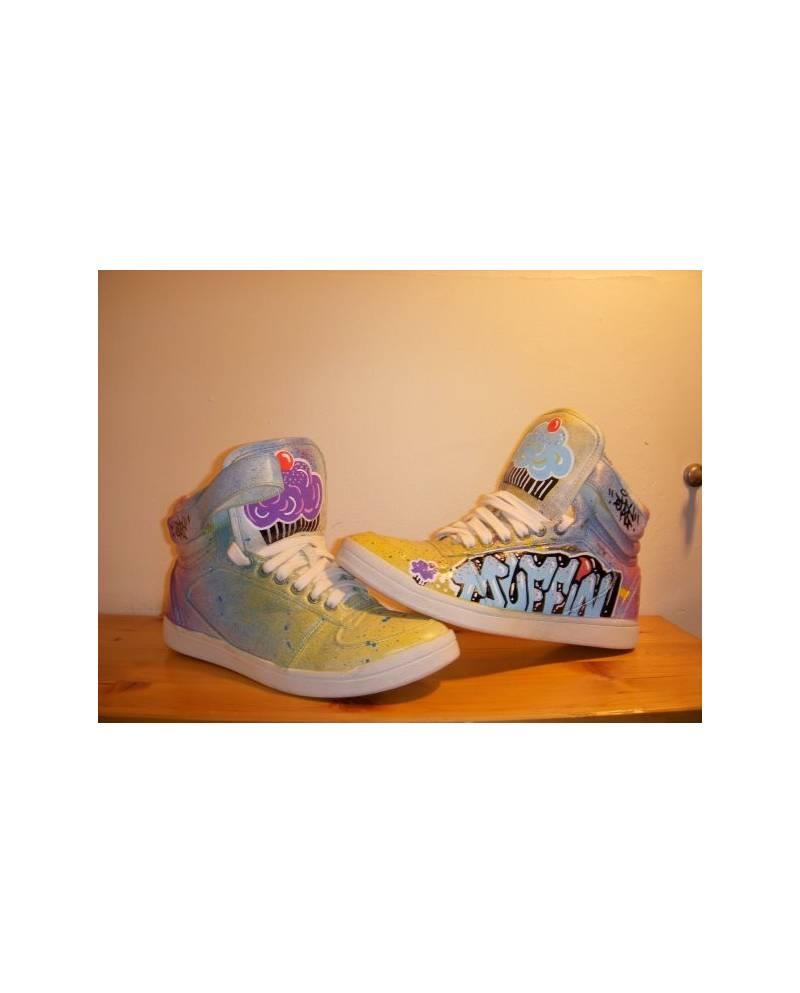 Shoe customization example: Muffin