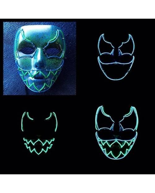 "Masque Personnalisé Led ""Aqua Savage"""