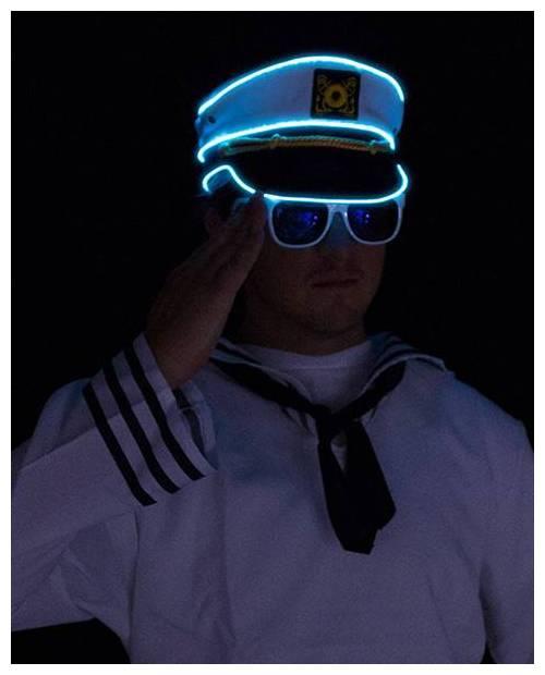 casquette capitaine lumineuse clip madonna