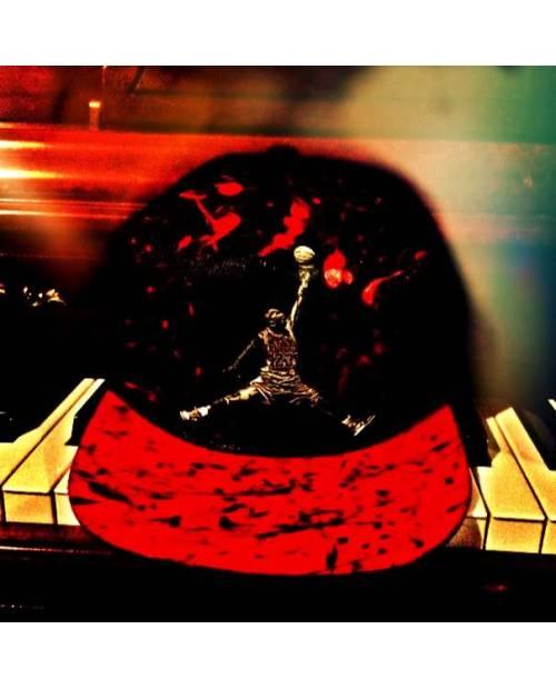 Casquette noire a croix jaune Heart Jacking