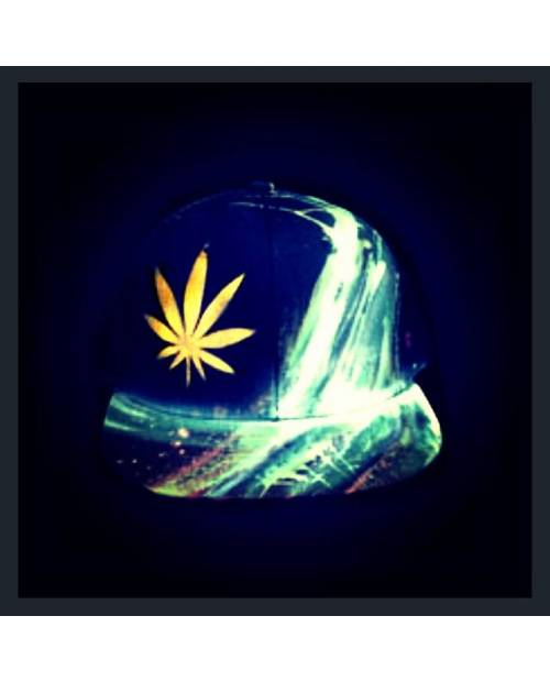 "Casquette Weed ""Golden Leaf"""