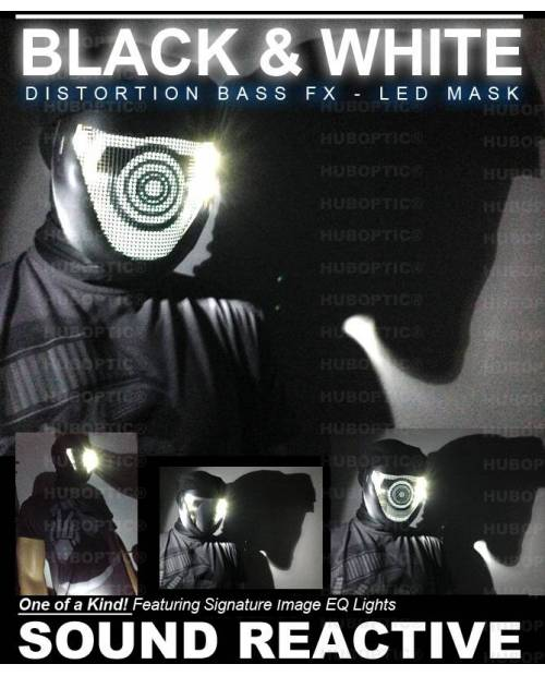 "Masque Lumineux ""Bass"" Customisable Différents Coloris"