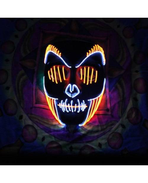 Masque Led jivaro