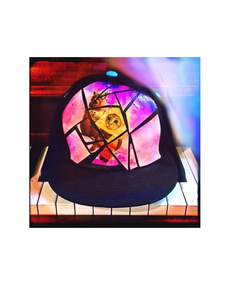 casquette chat pizza ecureuil mozaik