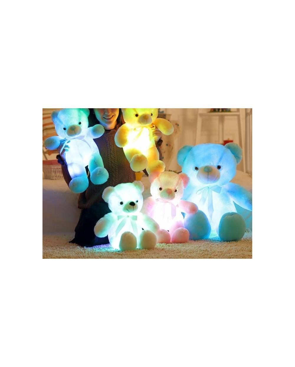 ours lumineux peluche ours led peluche lumineuses. Black Bedroom Furniture Sets. Home Design Ideas