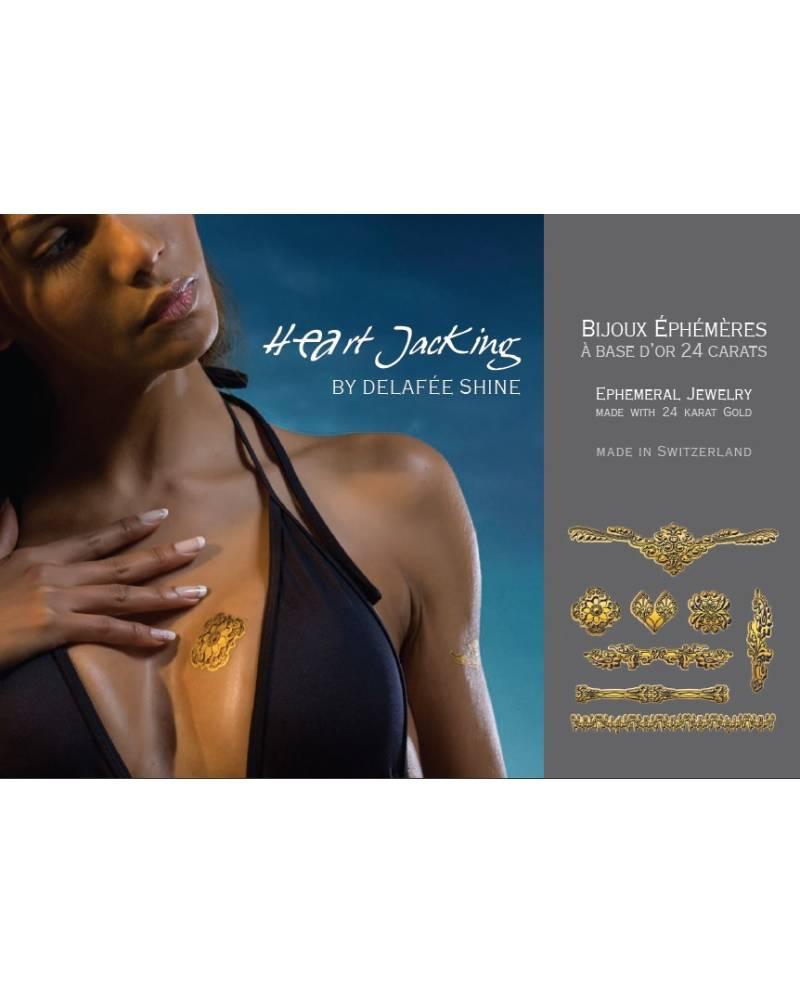 Tatouages Dorés : Collection Henné