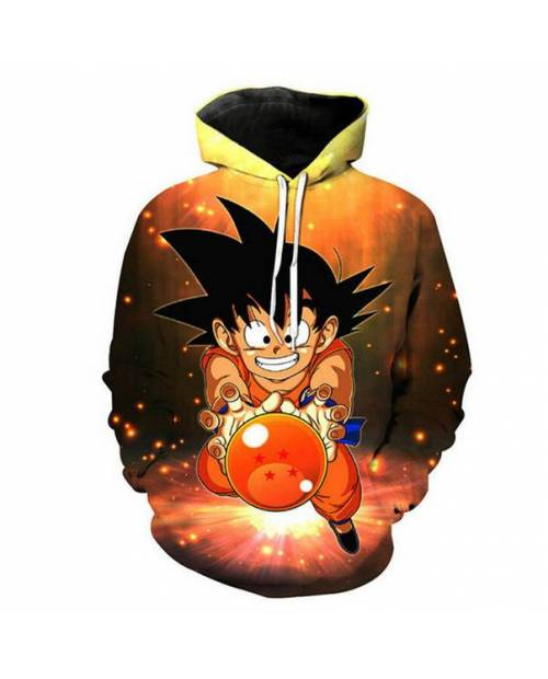 Sweat Capuche Sangoku Dragon Ball