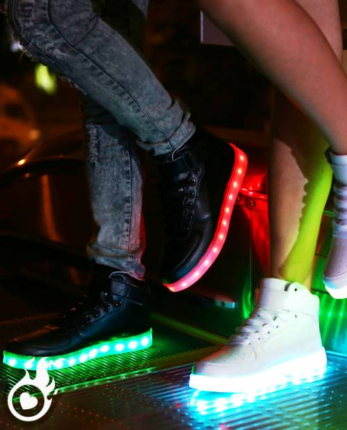 Chaussures LED Lumineuses