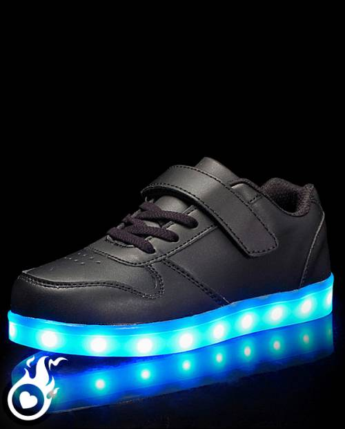 Lumineuse Lumineuses LED Chaussures Chaussure Basket LED 8f6w0xqqFR