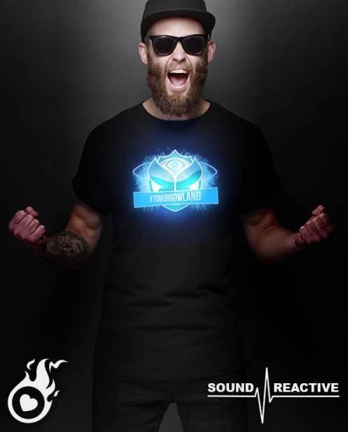 Tee-shirt Tomorrowland lumineux