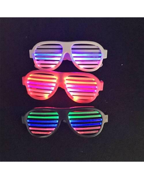 Lunettes LED réactives