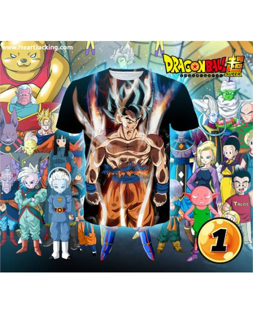 Tee Shirts Sangoku (Ultra Instinct Etc)