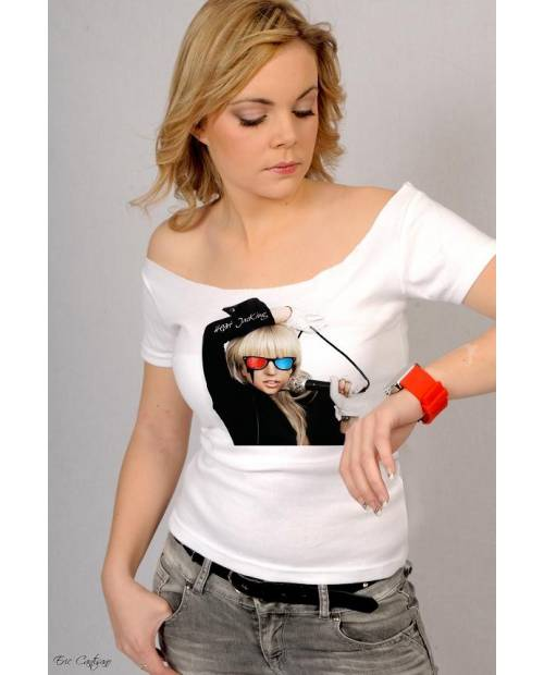 Tee shirt Lady Gaga