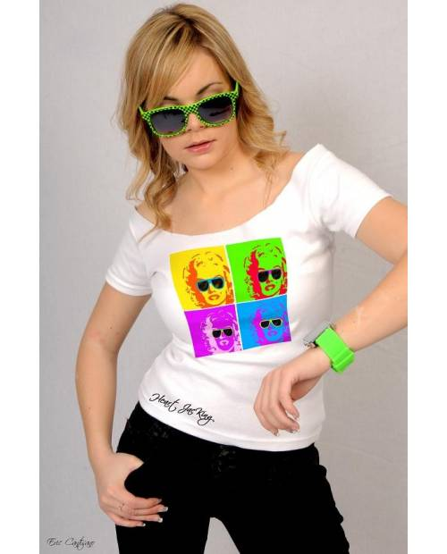 TEE SHIRT POP ART