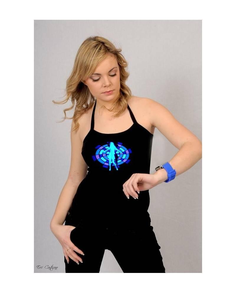 Tee Shirt Hip Hop Dance Electroluminescent