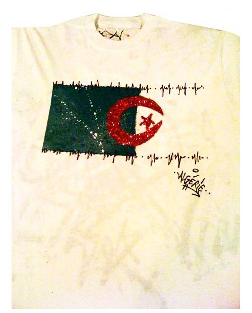 T Shirt Graffiti Algerie