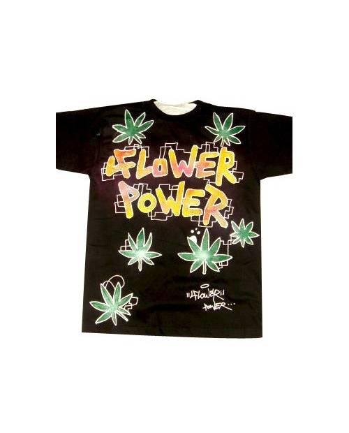 Graffiti T Shirt Flower