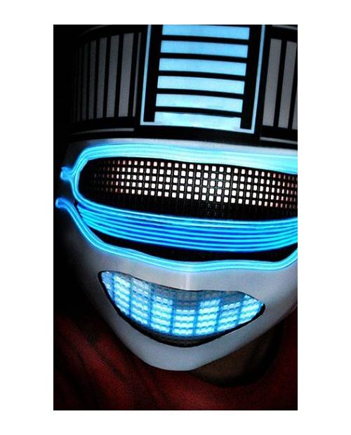 Daft Punk Helmet Light Equalizer