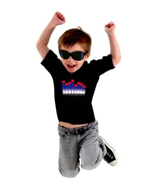 T Shirt Equalizer Enfant Equa 3d