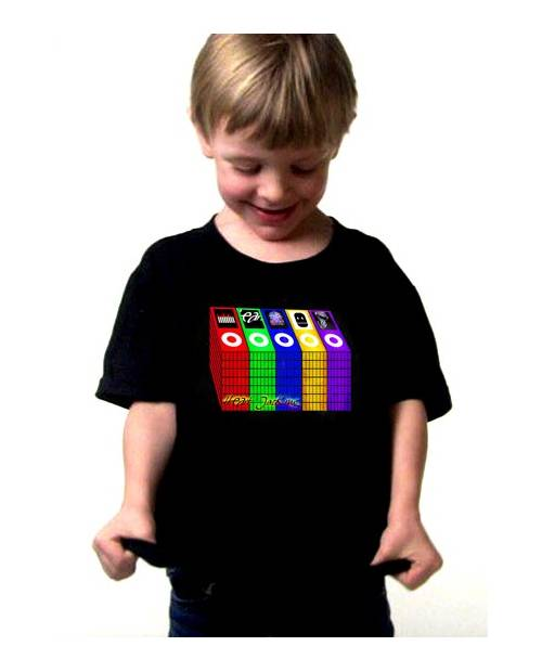 T Shirt Equalizer Hpod Enfant