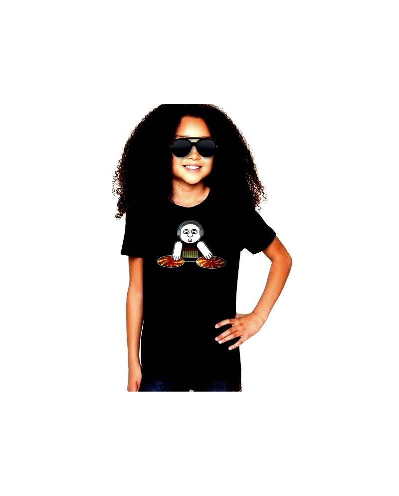 T Shirt Kids God Is A Dj