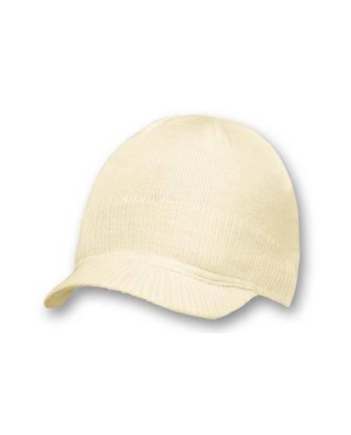 Bonnet Casquette Blanc