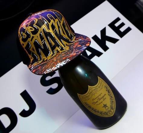Casquette graffiti créée pour le DJ Snake