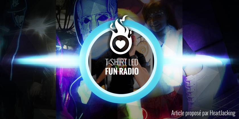 T-shirt Lumineux Fun Radio (Emission du matin 6h-9h)